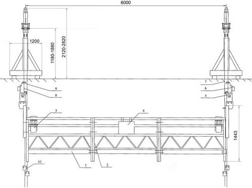Схема подъемника Nordberg-630